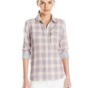 Paige Button Down Plaid Trudy Flannel Shirt | H14